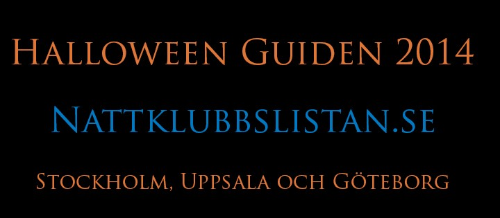 Halloween Guide Nattklubbslistan
